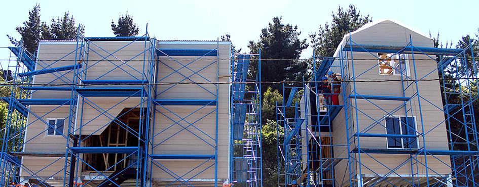 Reconstrucción Viviendas y costanera de Dichato